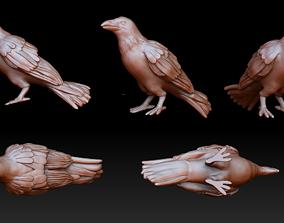 3D printable model Raven miniature