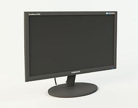 3D model Monitor LCD Samsung SyncMaster E2020