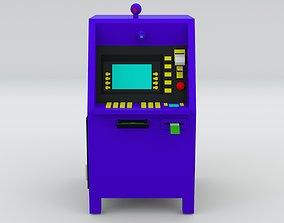 3D asset Automated Teller Machine
