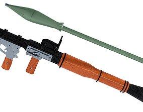 3D ammo RPG-7 Rocket Launcher