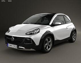 3D Opel Adam Rocks concept 2013