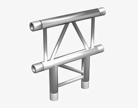 3D model Beam Truss Cross and T Junction 134