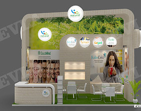 3D Exhibition stand 09