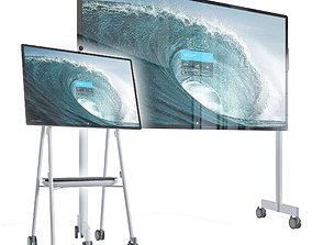 3D Microsoft Surface Hub