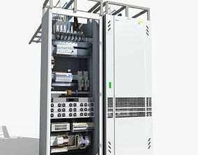 Telecom Power System 01 3D