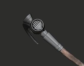 3D print model Nekron Scythe Black Lantern Corps
