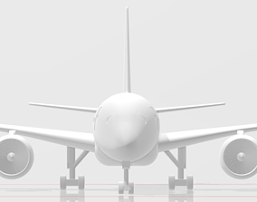Airbus A350-900 3D printable model
