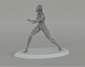 3D printable model The Female Titan from shingeki no 1
