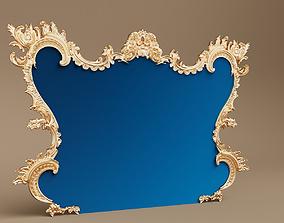 3D model Baroque Arc Frame
