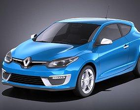Renault Megane 3door GT 2016 VRAY