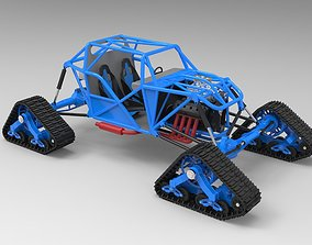 power 3D Buggy with Mattracks Suspension tracks