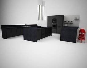 3D SCHIFFINI CINQUETERRE KITCHEN SET