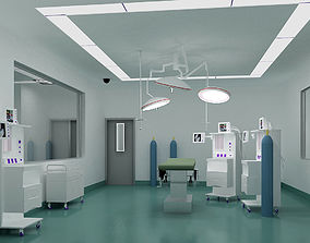 3D model Operation Room