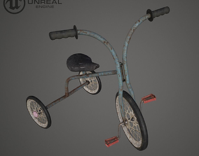 3D model Children Bicycle Rusty