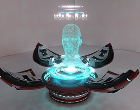 3D model Holographic Projector