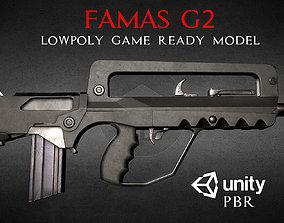 FAMAS G2 Assault Rifle 3D asset