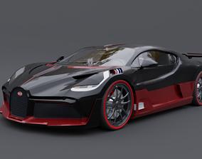 veyron 3D model bugatti divo
