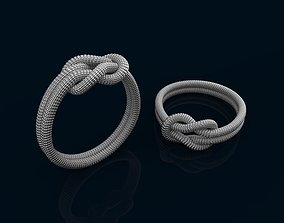 rope ring 3D printable model