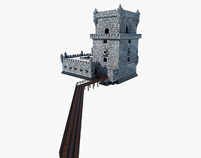 3D asset Belem Tower