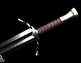 3D asset Boromirs sword from LOTR series