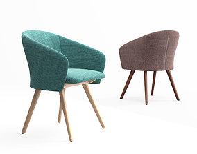 De La Espada Saia dining chair 3D model