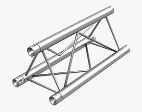 Mini Triangular Truss Straight Segment 3D model