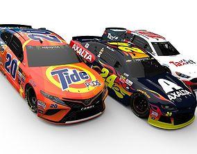 3D asset NASCAR 2018 Season Body