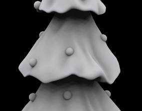 Christmas tree printing 3D printable model