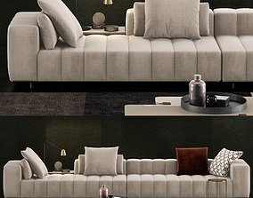 Minotti Freeman Tailor Sofa 1 3D