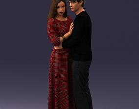 3D Romantic couple 1128