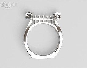 3D print model Lira original ring
