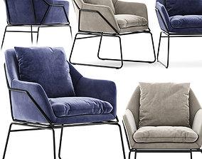 3D Carson Carrington Svelgen Accent Chair