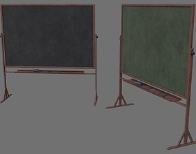 3D asset Chalkboard 1B