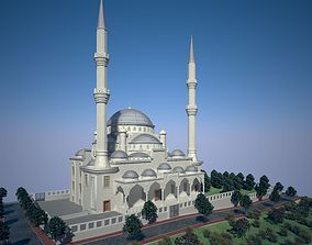 3D model CLASSICAL OTTOMAN EMPIRE MOSQUE