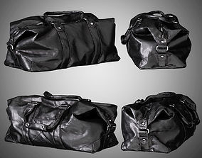 3D MENS TRAVEL LEATHER BAG
