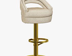 Essential Home Russel Bar Chair 3D
