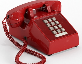 Western Electric Model 2500 telephone 3D
