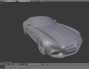 3D model Mercedes-AMG GT