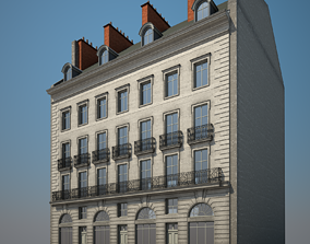 Old Building X 3D model home