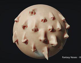 Zbrush - Fantasy Noses - VDM Brushes 3D