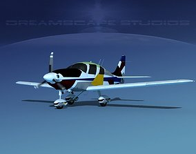 3D model animated Cessna 400 TTx V12