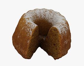 3D model Gugelhupf Cake 002