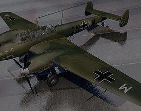 3D Messerschmitt Bf-110 C-3