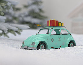 decoration 3D Toy car