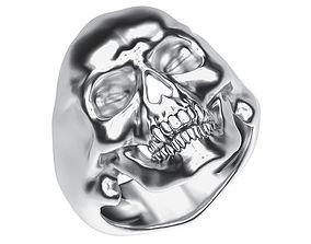 Ring 022 skull 3D printable model