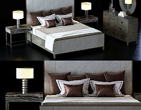 3D Bernhardt Linea Bedroom Set 1