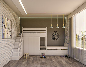 childroom - sketchup 3D