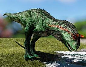 Carnotaur Resurrection - dinosaur 3d model 3D animated