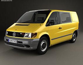 Mercedes-Benz Vito W638 Kombi Van 1996 3D model