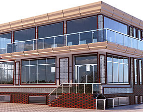 Restaurant Exterior ilqar 3D model
